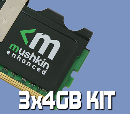 Mushkin Enhanced Blackline 12GB Kit Review