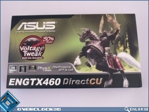 Asus GeForce GTX 460 1GB DirectCu TOP