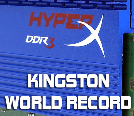 Kingstone 2333MHz T1 Breaks World Record