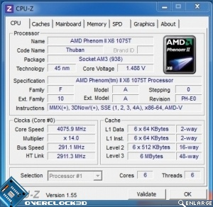 AMD Phenom II X6 1075T Black Edition