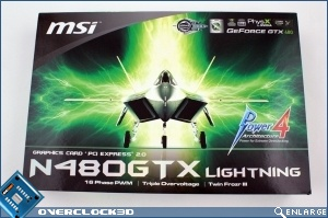 MSI N480GTX Lightning Review
