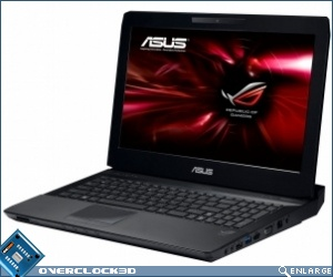 The Asus RoG G53 3D laptop