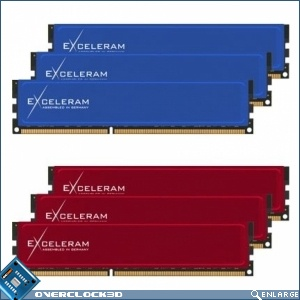 Blue Culvert and Red Culvert Memory Kits from Exceleram