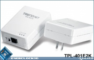 TRENDnet 500Mbps Powerline AV Adapters Kit TPL-401E2K