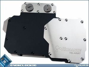 Koolance VID-AR697 Water Block