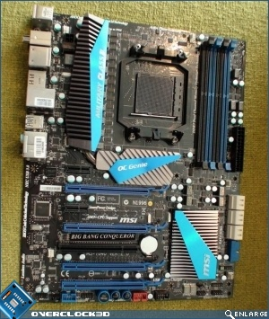 MSI Big Bang Conqueror Motherboard