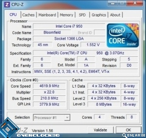 Gigabyte G1 Assassin Temperatures