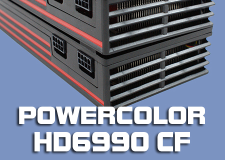 PowerColor HD6990 Crossfire Review