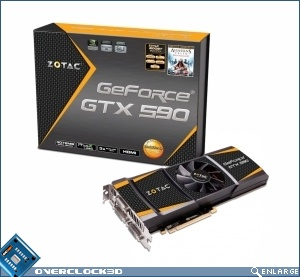 Zotac release GeForce GTX 590