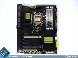 ASUS Sabertooth P67A B3 Review Motherboard