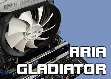 Aria.co.uk Gladiator i5 overclocked Bundle