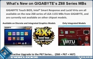 Gigabyte Z68X UD5 B3 Preview