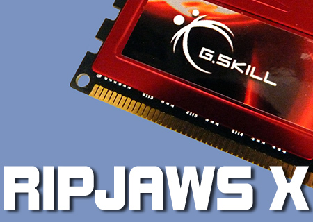 G,Skill Ripjaws X 8GB Kit Review