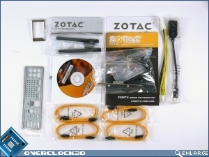 Zotac Z68-ITX WiFi Accessories