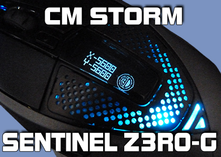 CM Storm Sentinel Advance Z3RO-G Review
