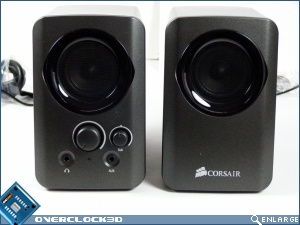 Corsair SP2200 2.1 Speaker Review