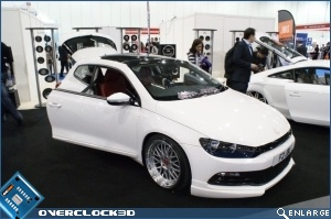 OC3D & Be Quiet @ LITS 2011 VW Scirocco