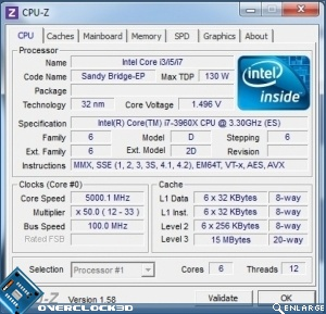 ASUS Rampage IV Extreme 5GHz Overclocking settings 1