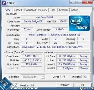 ASUS Rampage IV Extreme 5GHz Overclocking method 2
