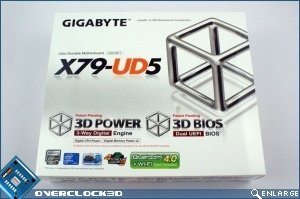 Gigabye GA-X79-UD5 Preview