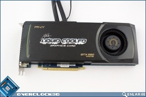 PNY GTX580 Liquid Cooled Review