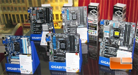 Several Gigabyte updates at CES