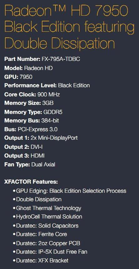 XFX R7950 Black Edition Review