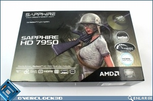 Sapphire HD7950 Overclock Edition Review