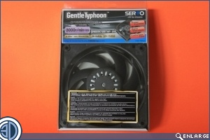 Scythe Gentle Typhoon:  High RPM series