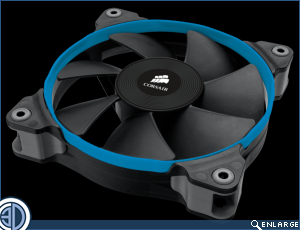 Corsair Air Series Fans Review SP120 AF120