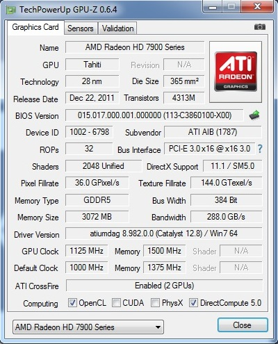 PowerColor Devil13 HD7990 Overclocking
