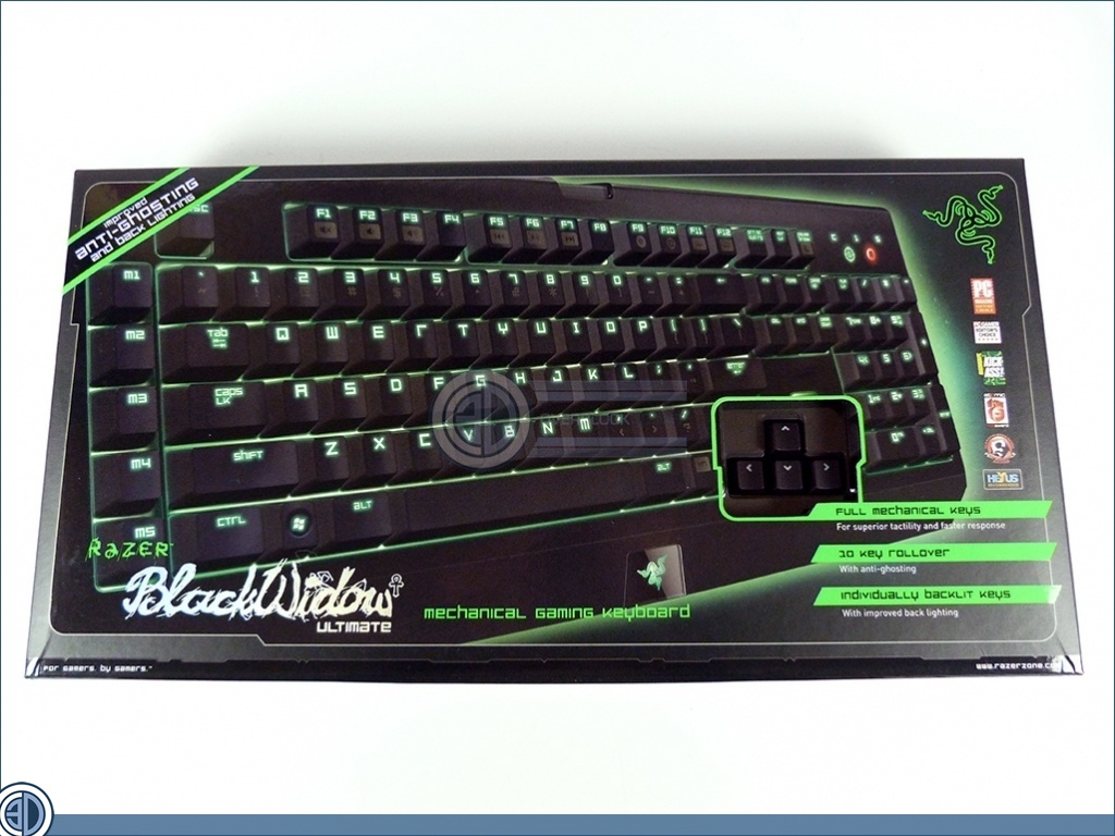 how to clean a razezr blackwidow ultimater keyboard