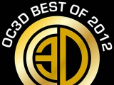 OC3D Best of 2012 Awards
