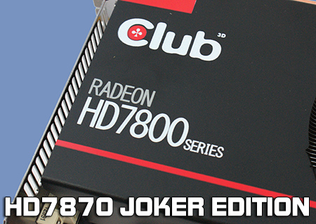 Club 3D HD7870XT Joker Edition Review