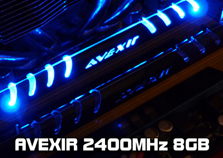 Avexir MPOWER 2400MHz 8GB Review