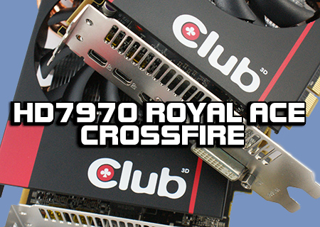 Club 3D HD7970 Royal Ace with Crossfire Review