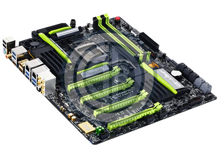 Gigabyte's new offering of 8 Series motherboards!