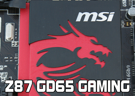 MSI Z87 GD65 Gaming Review