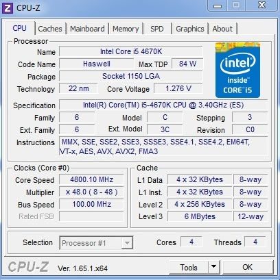 Intel Core i5-4670K Review