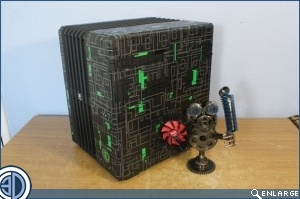 Win Time To Live Customs Borg Cube