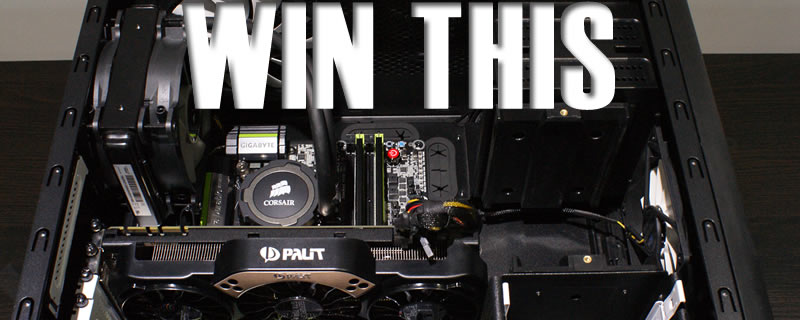 Win an epic MATX Gaming Rig