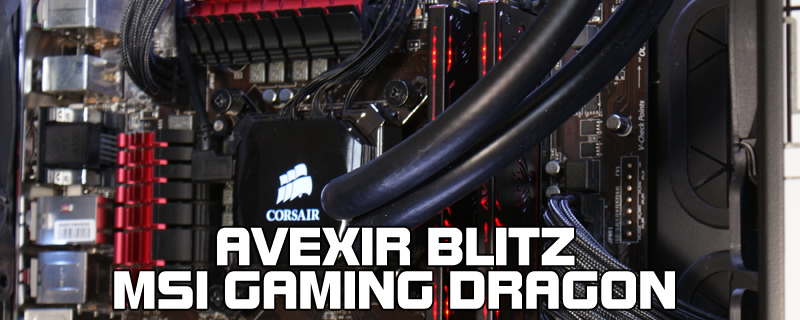 Avexir Blitz Gaming Dragon Edition