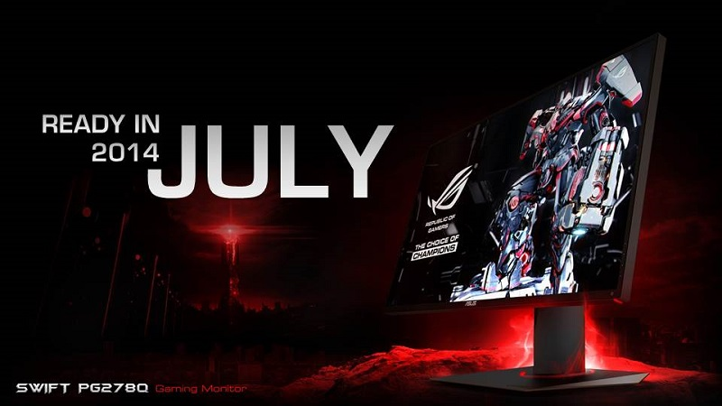 ASUS ROG PG278Q arriving next month