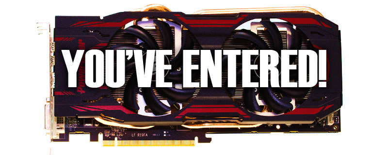 Win one of two AMD R9 280's