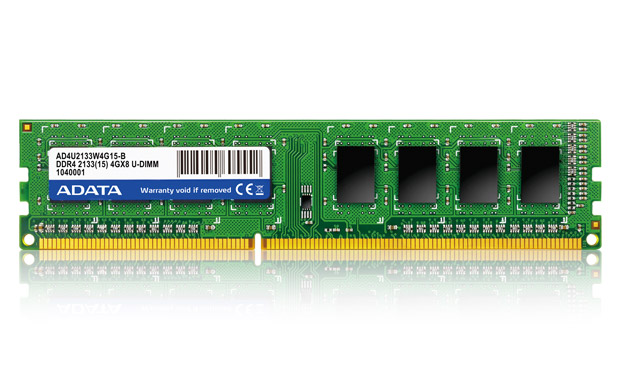 ADATA Launches Premier DDR4 2133 Memory in UK