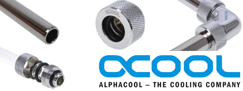 Alphacool Rigid Tubing and Fittings