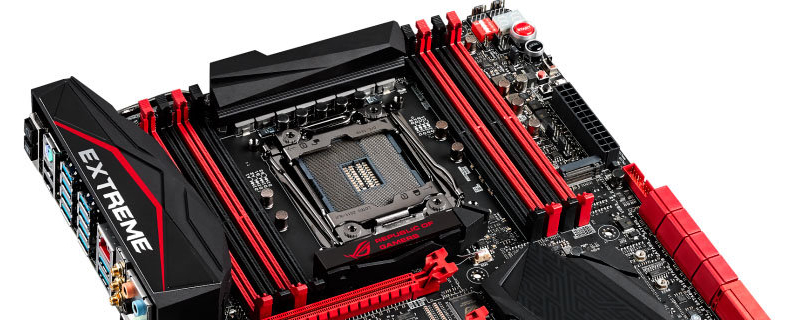 ASUS  X99 Rampage V Extreme Revealed!