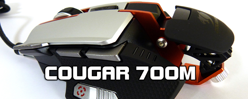 Cougar 700M Gaming Mouse Review