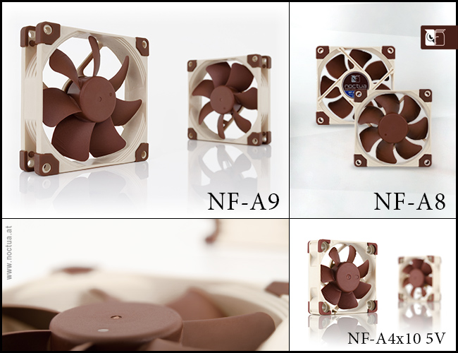Noctua expands A-series with new 92, 80 and 40mm fans