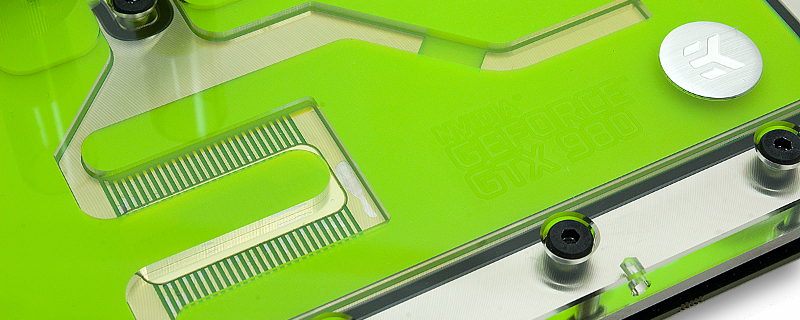 EK unveils GTX 980 water blocks